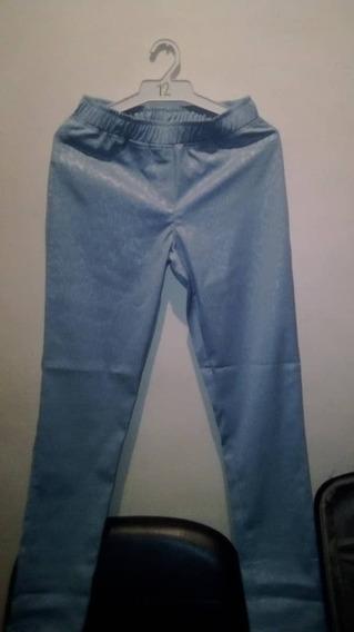 Pantalon Dama Casual Colo Azul Talla 14 Nuevo