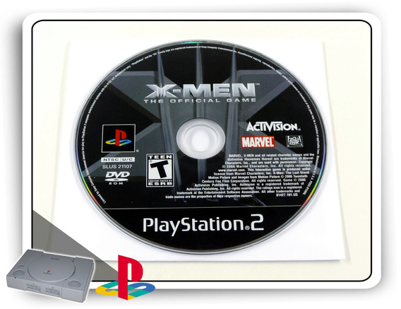X-men 3 The Official Game Original Playstation 2 Ps2
