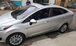 Lamevidrios Cromados Ford Fiesta Sedan 2010 - 2019 16 Piezas