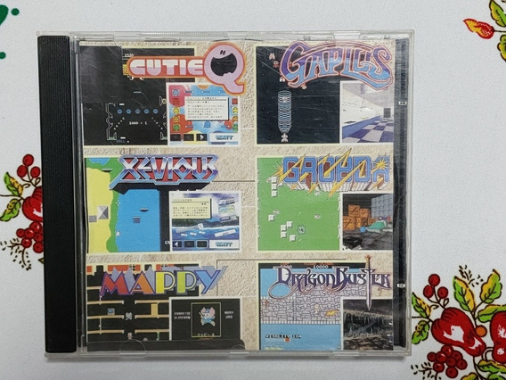 Namco Museum Vol 2 Volume Patch Prata Playstation One Ps1