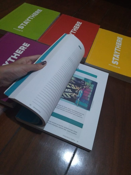Material Inglês Completo You Move Staythere Livros + Dvds