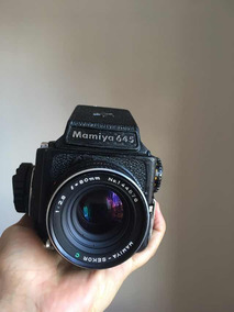 Mamiya 645 Com Lente 80mm F2.8