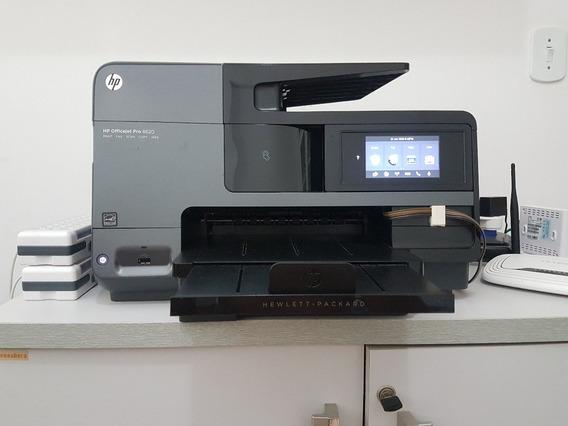 Multifuncional Hp Officejet Pro 8620 Adaptada Com Bulk Ink