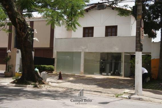 Sobrado Comercial Com 10 Salas Em Indianópolis - Cc096-2