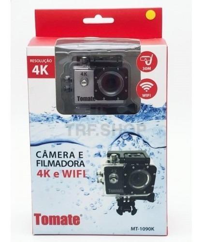 Câmera Esporte Prova Dágua 4k Wifi Tomate Mt1090