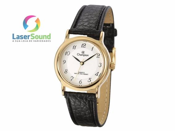 Relógio Champion Social Feminino Cn28026b, C/ Garantia E Nf.