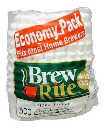 Filtros De Papel Para Cafetera 8-12 Tazas - 500 U