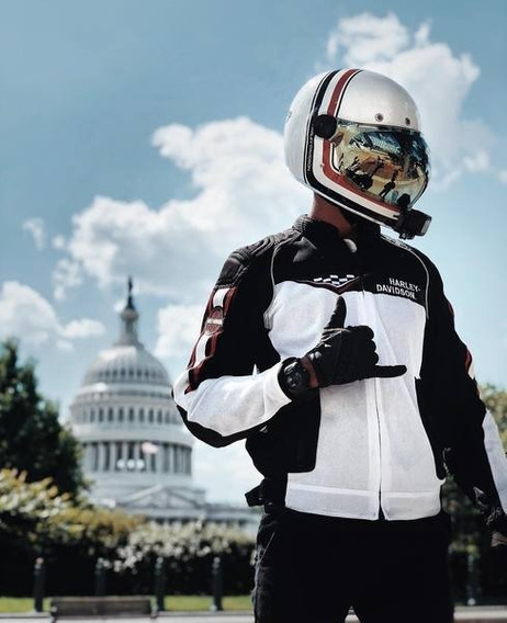 Capacete Vintage Full-face Harley-davidson Bullitt M E G