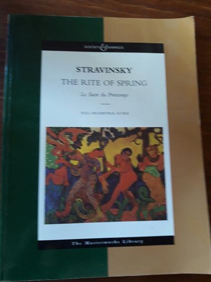 La Consagracion De La Primavera. Stravinsky.orquestal