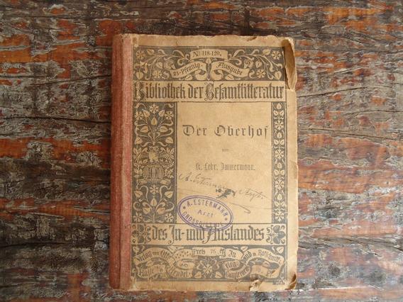 Antigo Mini Livro Alemao 1895 Barato
