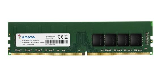 Memoria RAM 4GB 1x4GB Adata AD4U2666J4G19-S