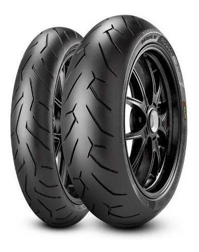 Pneu 100/80-17 E 140/70-17 Pirelli Rosso 2 - Nova Fazer 250