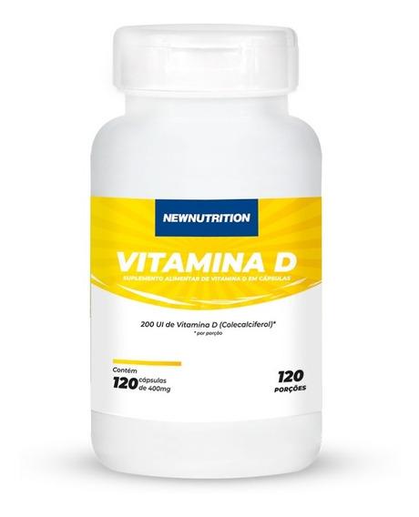 Vitamina D 200 Ui 120 Softgels Newnutrition