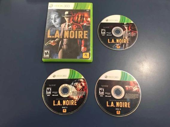 L A Noire Xbox 360 Jogo Original Game Rockstar