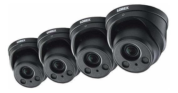 4-pack Of Lorex 8mp 4k Ip Motorized Varifocal Zoom Audio Dom