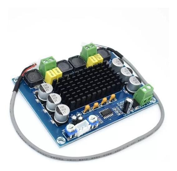 Placa Amplificadora De Som Classe D 2x120wrms Chip Original