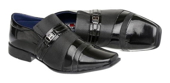 Sapato Social Masculino Em Verniz Ref:840