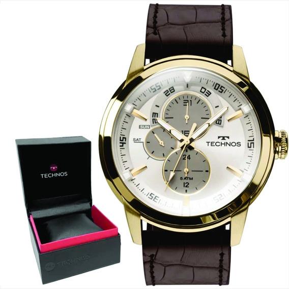 Relógio Technos Grandtech Masculino Original E Nf 6p57ac/2c