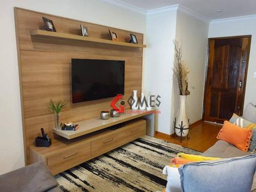 Apartamento Com 2 Dormitórios À Venda, 56 M² Por R$ 325.000 - Jardim Olavo Bilac - São Bernardo Do Campo/sp - Ap2768