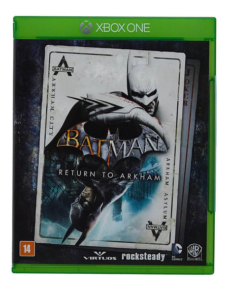 Batman: Return To Arkham Xbox One Mídia Física Lacrada