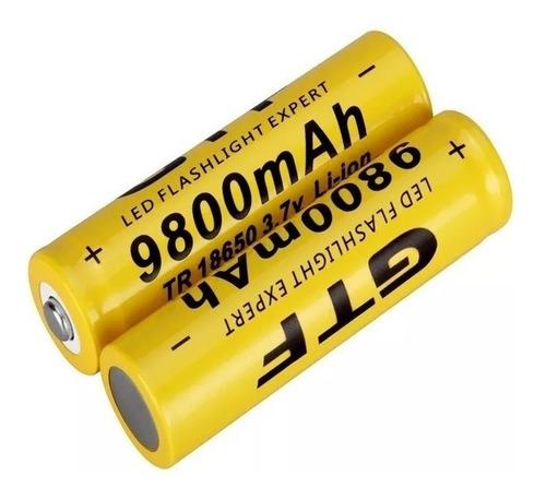 Kit 4 Baterias Recarregaveis 18650 9800mah 3,7v Frete Barato