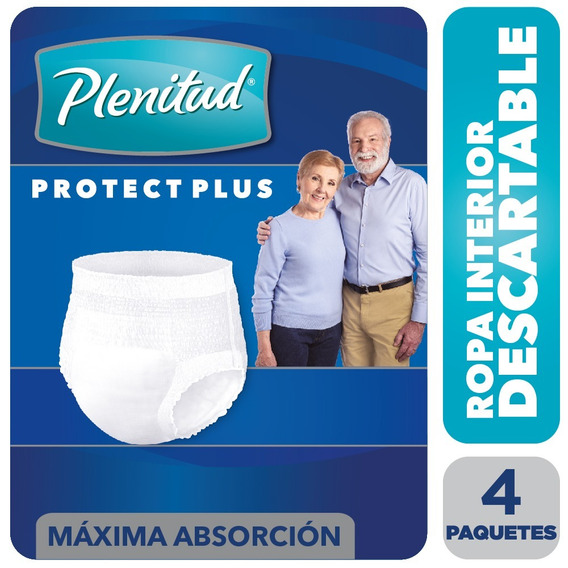 Ropa Interior Plenitud Protect Plus X 8 Unidades Pack X 4