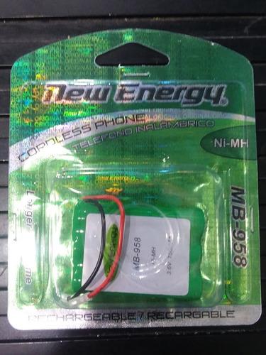 Pila Bateria Teléfono Inalambrico New Energy Ul 958 3.6 V