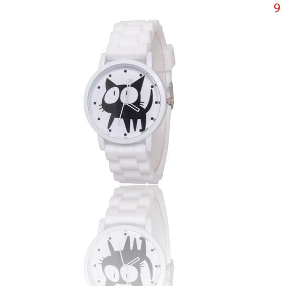 Zlf0329 Relógio Quartzo Com Cinta Silicone Mulheres