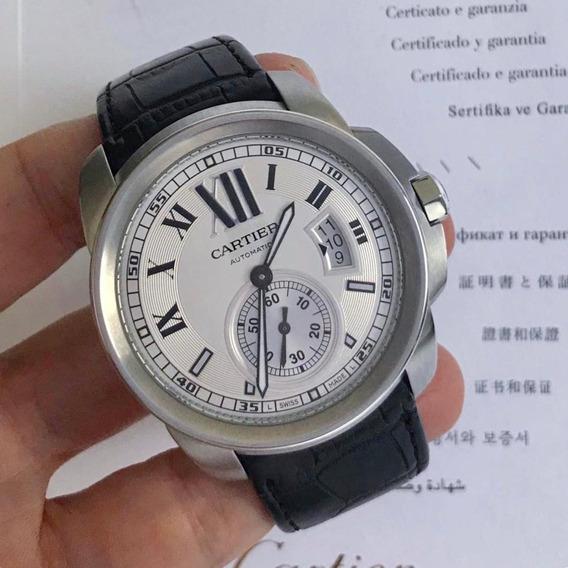 Cartier Calibre De Cartier White Dial Novíssimo