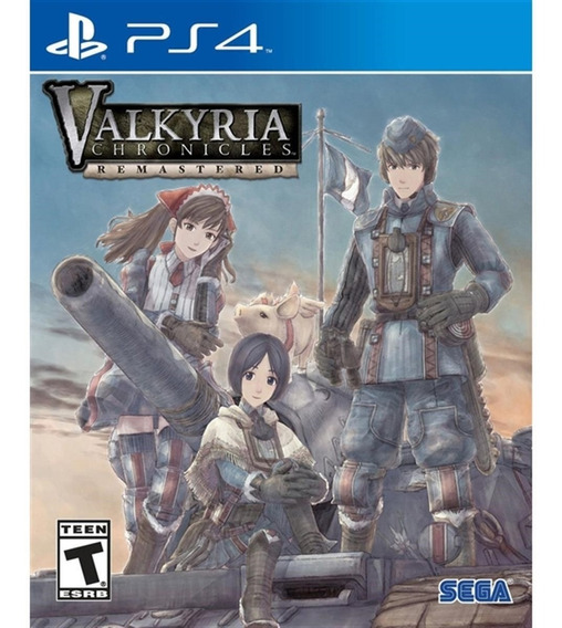 Valkyria Chronicles Remastered - Ps4 Lacrado