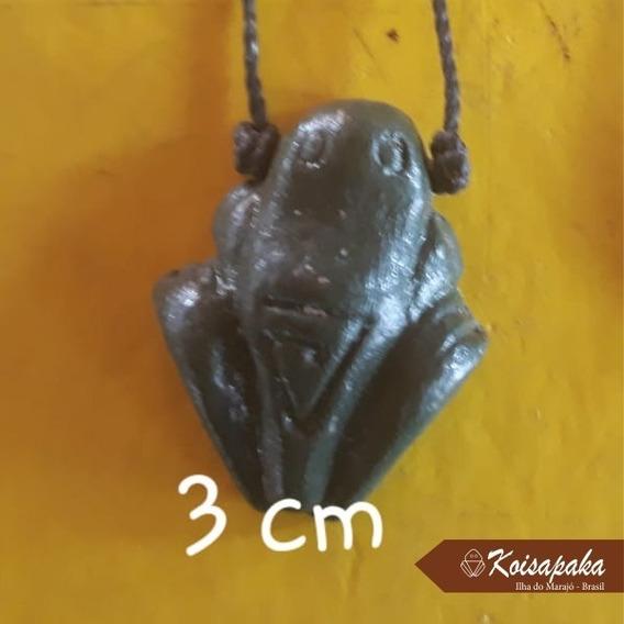 2 Muiraquitã Amuleto Indígena Da Sorte Felicidade E Proteção
