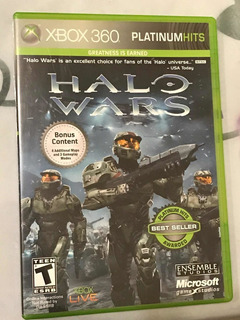 Halo Wars - Xbox 360 -disco Fisico