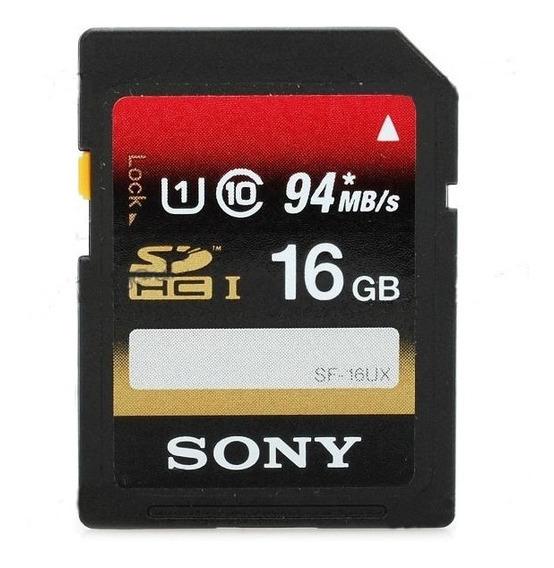 Memoria Sdhc Sony 16 Gb Classe 10