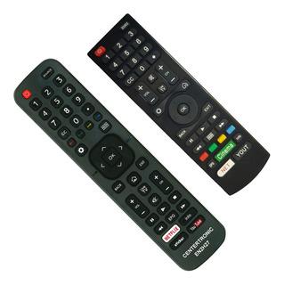 Control Remoto En2h27 Para Smart Tv Bgh Noblex Sanyo Jvc Ilo