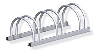 2921 Aparca Bici Piso 250x800x165 Aluminio Triple (alfer)