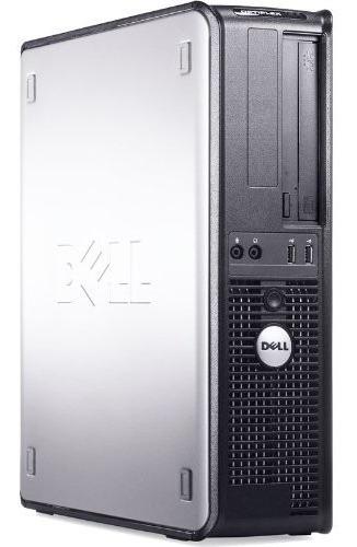Imagem 1 de 4 de Cpu Completa Dell Core 2 Duo 4gb Hd80 Wifi Monitor Lcd 17