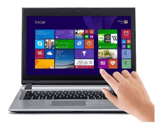 Notebook 14 Touch S2855, 4 Gb, H500gb, Wifi, Hdmi