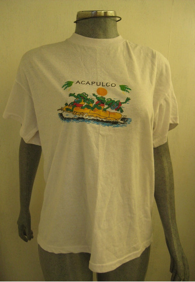 Camiseta Estampada Moda Etnica Talla L Marca Adiyan