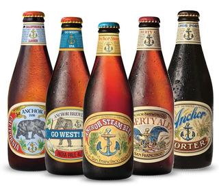 Cerveza Anchor Usa Importada Estados Unidos Ipa Porter Lager