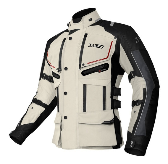 Jaqueta X11 Travel 2 Special Tour Impermeavel Proteção Moto