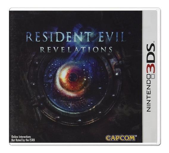 Resident Evil Revelations - 3ds - Usado - Original