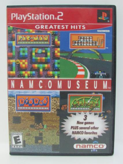 Namcomuseum - Jogo Playstation 2 Original Completo Manual