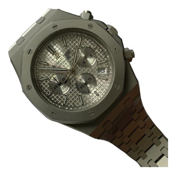 Reloj Audemars Piguet Royal Oak Satinado Cara Blanca 455ap