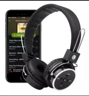 Fone Headphone Bluetooth-fm-micro Sd Jogos Game