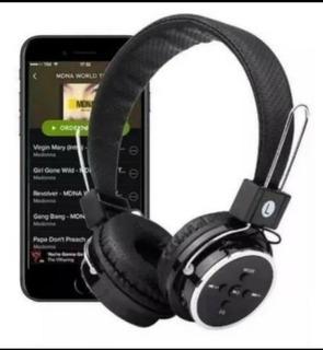 Fone Headphone Bluetooth-fm-micro Sd Jogos Game