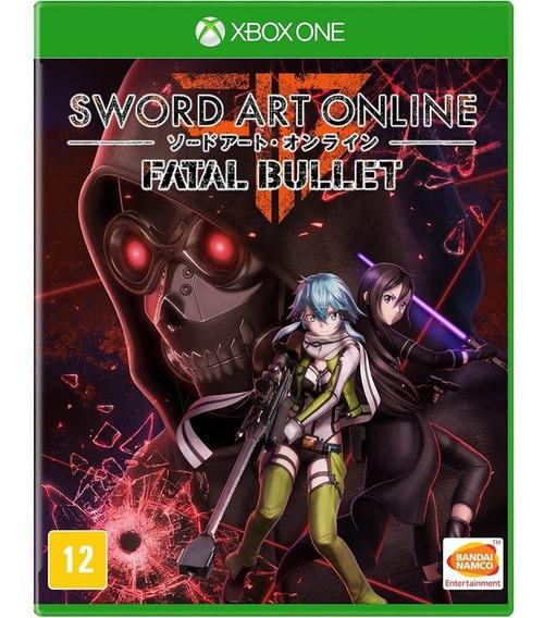 Jogo Sword Art Onlie Fatal Bullet Xbox One