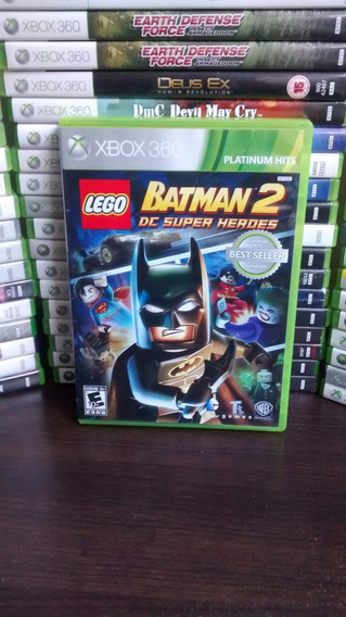 Jogo Xbox 360 - Lego Batman 2 - Português Frete R$ 12 Reais