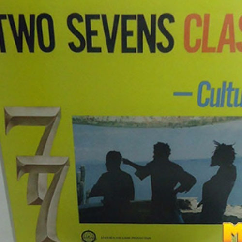 Culture 1977 Two Sevens Clash Lp Importado Calling Rasta For