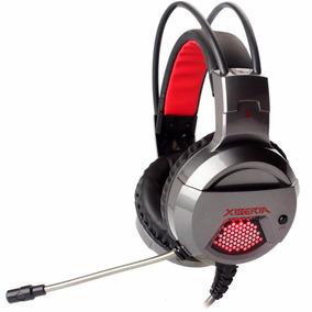 Headset Gamer Fone De Ouvido Grafite - Leadership X6
