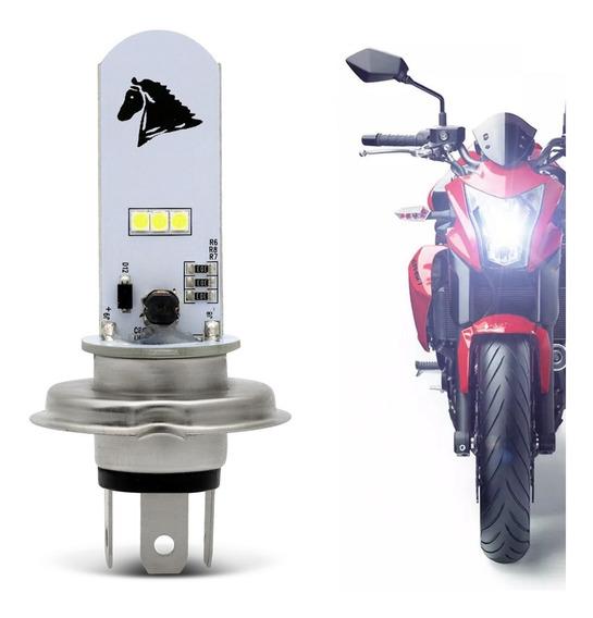 Lampada Led H4 Moto Super Branco 8000k Honda Nxr 150 Bros